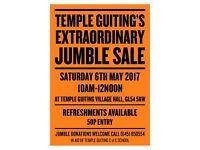 Extraordinary jumble sale