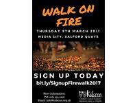 Kidscan Fire Walk Fundraising Challenge 2017