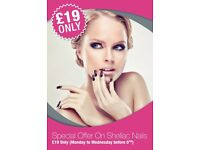 Save 30% on your Gel Nails, Shellac Polish & Classic Manicure & Pedicures in Clapham Junction Salon