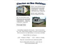 Static Caravan - Holiday Rental - Highfields - Clacton on Sea - Offers
