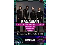 Transmit 2 x Saturday Day Tickets £65each