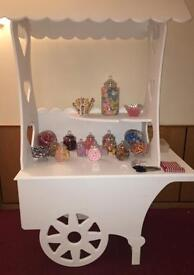 Candy Cart, Sweet Jars & Scoops for SALE