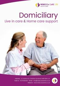 support worker & live in carer