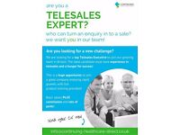 Experienced Telesales Executive - Required ASAP - Great Opportunity