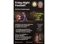 Adult 9v9 Flexi Football League