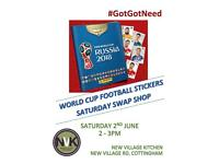 World Cup Stickers Saturday Swap Shop