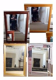 4 Large Mirrors