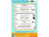 Free Creative Music Workshop, Fridays 2:30pm-3:30pm