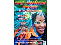 Looking for volunteers for African-Caribbean Market event in Kilburn