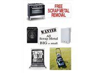 FREE SCRAP METAL COLLECTED - Washing Machines, Boilers, & More (See List Below) Polite Service!!!