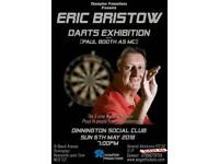 Eric Bristow Darts Exhibition