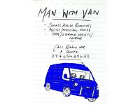 MAN WITH VAN GLASGOW/SOUTHSIDE