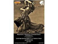 Talk: Movement in Flamenco and Oriental Dance. Festival of Ideas 2016