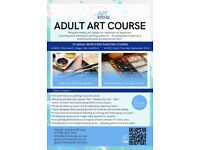 10-Week 'Improver' Adult Painting Course. Acrylic & Watercolour 3-hour Classes in Guildford!