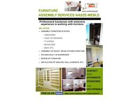 Furniture Assembly Services Flatpack Folding Handyman Flooring DIY IKEA shed