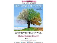 The Passing of the Year - an evening of poetic music!