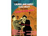 The Laurel and Hardy quiz night