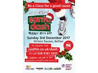 Santa Dash Belfast City 2017