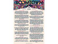 Boomtown Fair Chapter 10 2018 - 1 Ticket!