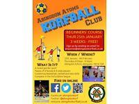 FREE Korfball Beginners' Course (ball sport, mixed gender teams)