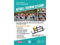 Back to Netball Training Course