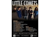2x FACE VALUE TICKETS to Little Comets - Oxford O2 academy Thursday 9/2/16