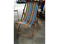 Deck chair, brand new in box