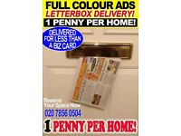 Your Full Colour Ad Delivered Into Local Homes for 1p per home: Hyper Targeted Direct Mail Works!