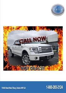 2014 Ford F-150 Platinum, One Owner, WOW, WOW!!!