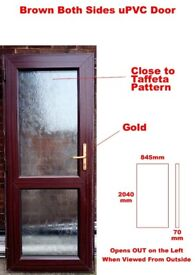White PVC Door 845x2040