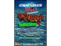 RNLI Fundraiser - Live Music Event featuring .....DEVIOUS... and ....The BAD Back Band