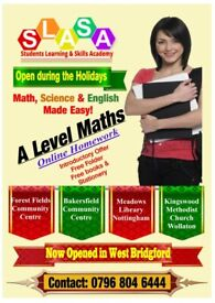 A Level Tuition Near Nottingham - Excellent Tutoring in Maths, Science & English