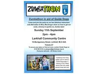 Zumbathon in aid of Guide Dogs - Sun 11th Sept 2pm-4pm Larkhall * ZUMBA FITNESS DANCE FUNDRAISING *