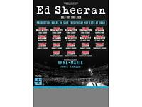 Ed Sheeran tickets x 2