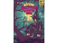 Elrow haunted house Edinburgh ticket