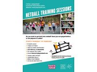 Netball Training For Beginners - Adult Sessions