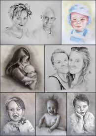 Family Portraits from a local artist