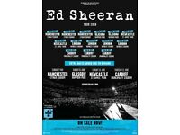 ED SHEERAN TICKETS x3 **GREAT SEATS**