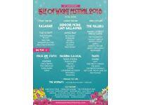 2 Full Weekender Isle of Wight Tickets