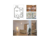 Gorgeous 2bed warehouse conversion in Limehouse Cut.
