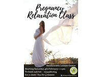 Pregnancy Relaxatation Class