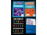 4x Bloomsbury Books for Teachers *BRAND NEW*