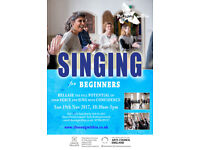 SINGING for Beginners - One Day Voice Workshop @Chats Palace Arts Centre