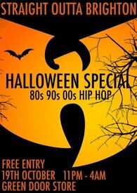 Straight Outta Brighton *Halloween Special* Green Door Store - Free Entry