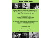 Guitar Tuition (by Girls Rock School NI guitar tutor)