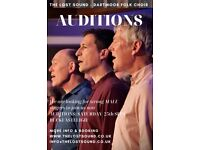 Male Singers Wanted to Audition for Amateur Mixed Voice Folk Choir in Buckfastleigh