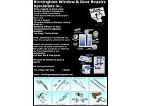 Specialist Window Repairs,Doube Glazing Repair.. Birmingham Window & Door Repairs