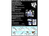 Specialist Window Repairs,Doube Glazing Repair.. Birmingham Window & Door Repairs