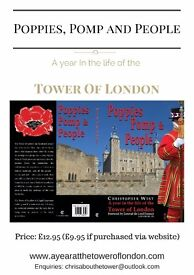 Come to the Book signing event for Poppies, Pomp and People