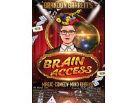 Brain Access ( A magic show like no other)
